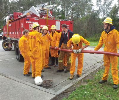 cfa at warrandyte high