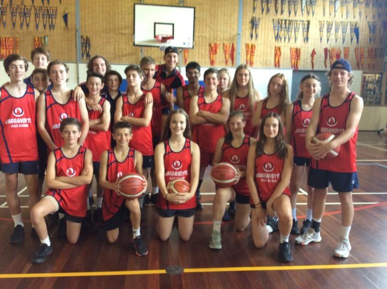 basketball and football program
