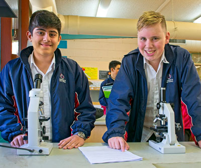 science at warrandyte high