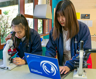 international students at warrandyte high
