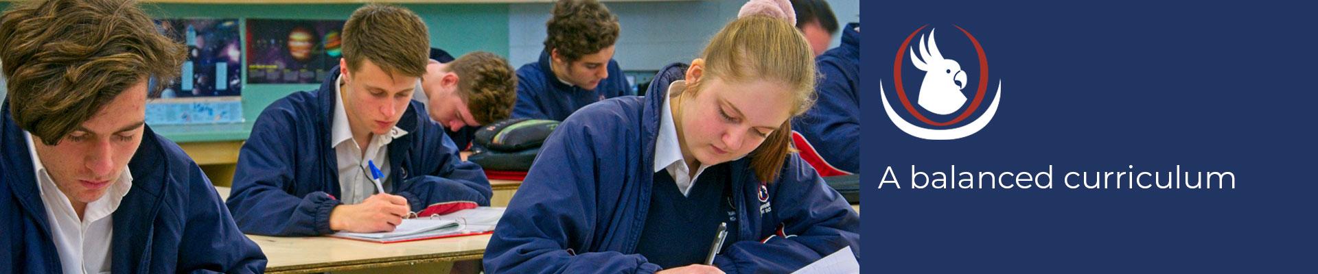curriculum at warrandyte high