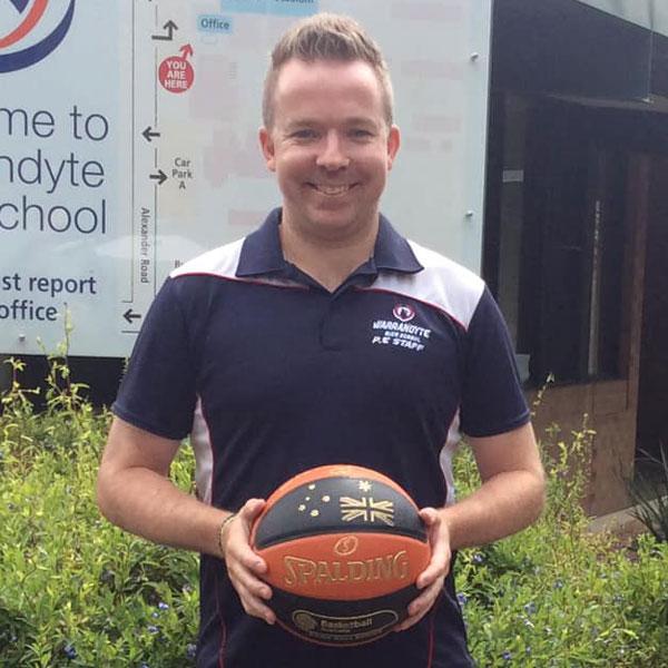 Brad Walters Basketball Coach Warrandyte Sports Academy