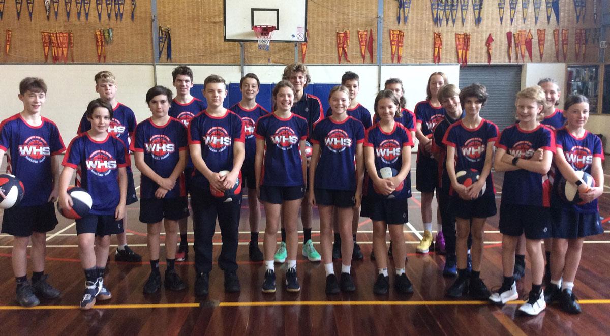 basketball at warrandyte high